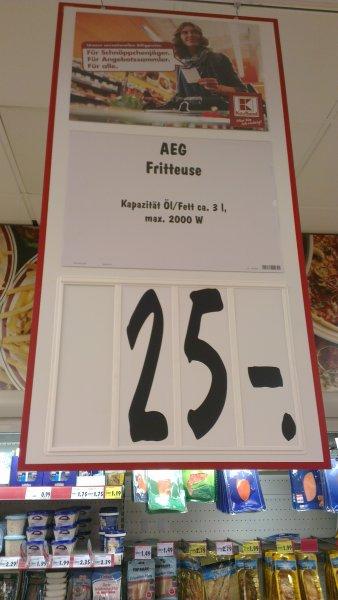 AEG Friteuse bei Kaufland für 25€ (Siegen)