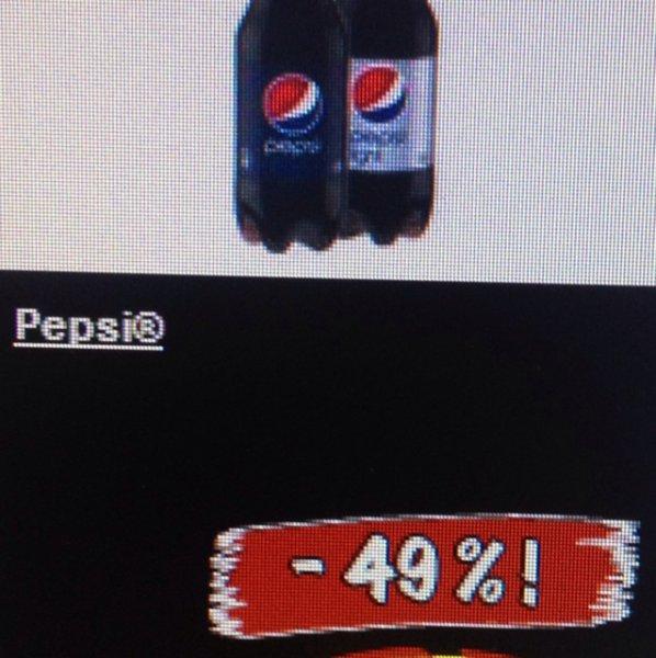 -50% auf Pepsi bei Lidl am 11.1.