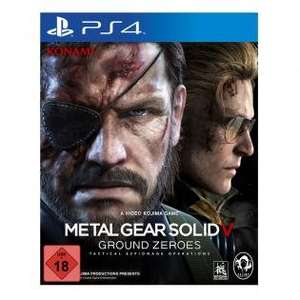 Metal Gear Solid V: Ground Zeroes (PS4 & XBOX ONE) für 32,99 Euro inkl. Versand