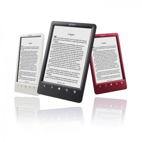 E-Book Reader Sony PRS-T3S schwarz / rot für 79,- Euro @groupon.nl