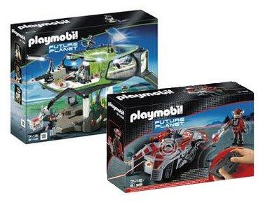 Playmobil 5149 Future Planet E-Rangers Future Base + Playmobil 5156 Stealer mit K.O. Leuchkanone (inkl. VSK)