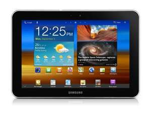 Samsung Galaxy Tab 8.9 P7300 Tablet 22,6 cm (8,9 Zoll) Touchscreen, 3G, 3 MP Kamera, Android 3.1, 16 GB interner Speicher für 219 € @ MP OHA