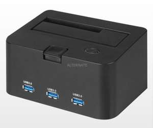 "[ZackZack] Sharkoon Festplattendock USB3.0 ""QuickPort H3"" inkl. VSK"