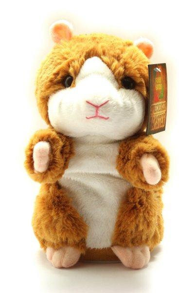 Sprechender Hamster aus Plüsch mit witziger Cartoon-Stimme ab 21,90 €