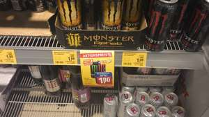 [REWE] Monster Energy versch. Sorten 1€ + 0,25€ Pfand