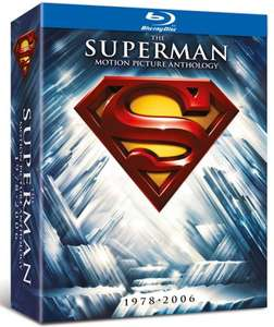 [Zavvi.uk/Hut.com] The Superman Motion Picture Anthology Blu-ray Digipack (8 Discs) inkl. Vsk für ca.21,62 €