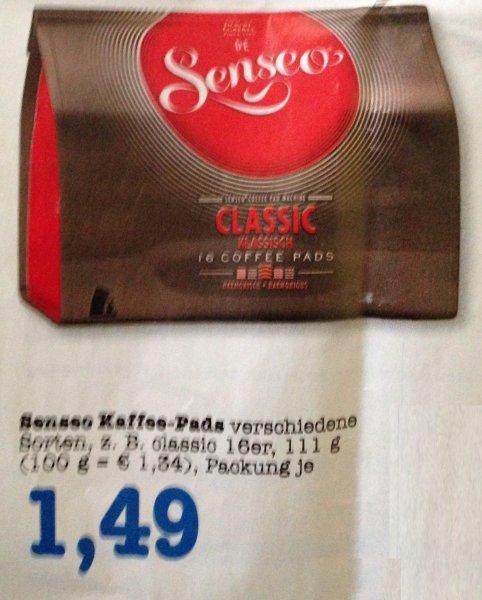 [LOKAL] Senseo Kaffepads für 1,49€, Pizza Ristorante mit Coupies für 1,19€ @ E-Center Tübingen