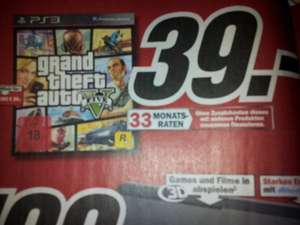 GTA V PS3 und XBOX in Media Markt und Amazon
