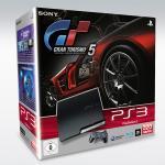 PS3 Slim 320GB + Gran Turismo 5 für 329€