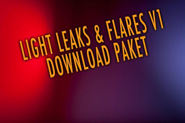 Krolop & Gerst - LightLeak & Flare Paket - zur Bildbearbeitung