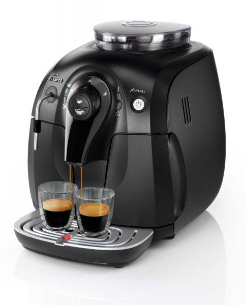 "[Zack-Zack.de] Saeco ""HD 8743/11 Xsmall"" Kaffeeautomat (schwarz) für 189,90 €"