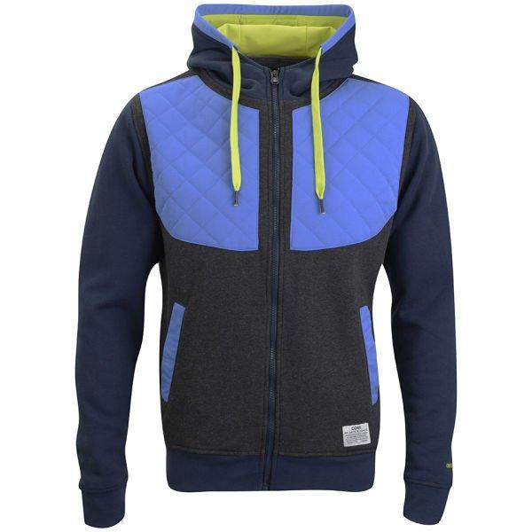 Jack & Jones Men's Zac Zip Through Sweatshirt für 19.29€ @The Hut