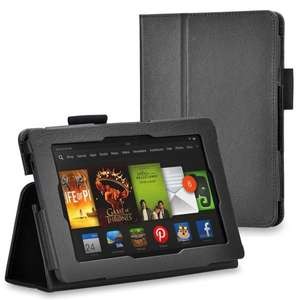 neue Kindle Fire HD (7 Zoll 2013) Hülle Mit Ständer, Unterstützt Sleep / Wake Smart Cover Funktion + Stylus (Eingabestift) & Displayschutzfolie EUR 4,95