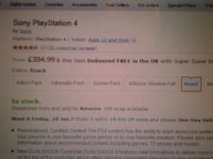 Ps4 Knack Bundle Amazon UK