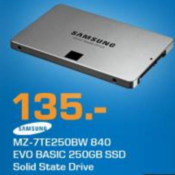 SSD Samsung 840 Evo 250GB Saturn Online 135,00€