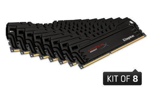 [Amazon.fr] 64 GB-Kit Kingston 2133MHz DDR3 CL11 DIMM XMP Beast Series w/ Fan inkl. Vsk für  303,40 €