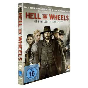 [Amazon.de] Hell on Wheels - Die komplette erste Staffel [Blu-ray] für 21 €