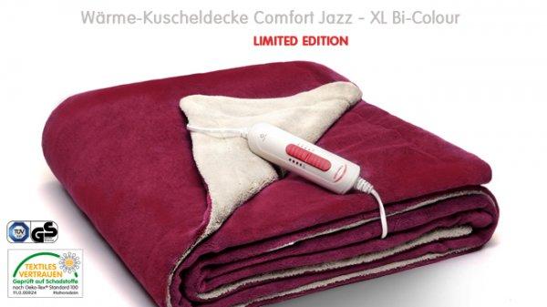 vente-privee: Soehnle Wärme-Kuscheldecke XL Bi-Colour für 49€