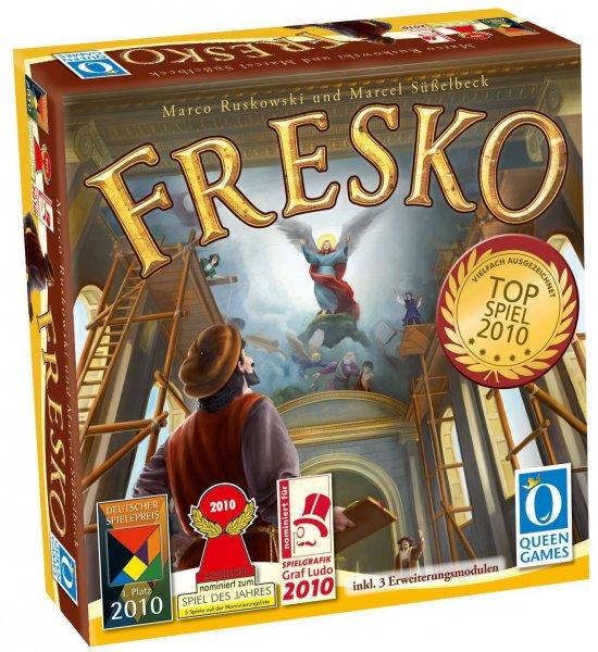 Fresko – Brettspiel jetzt nur noch für 16,82 Euro