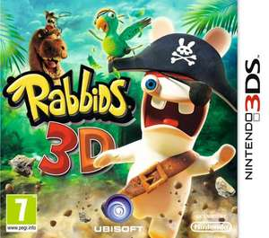 Rabbids 3d [3DS] für 18.99€ @ play.com