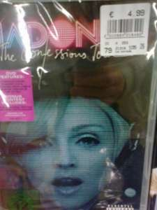{local} real 01809 Heidenau (b.Dresden) Madonna - The Confessions Tour DVD 4,99€