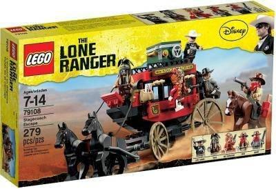 diverse LEGO® Lone Ranger - bsp. 79108 Flucht mit der Postkutsche -50%
