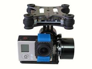 DJI Phantom Brushless Camera Mount Gimbal & Motor & Controller for Gopro 3 FPV