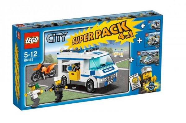 LEGO CITY Polizei Super Pack 66375
