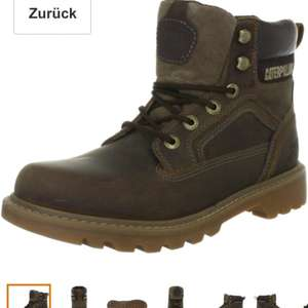 35,40€ Amazon Cat Footwear Stickshift P713401 Herren Chukka Boots