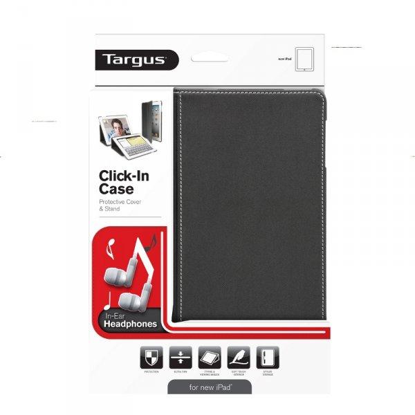 Targus Premium Click-In Case für das iPad3 + In-Ear-Kopfhörer für 9,99€ @NB