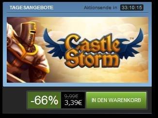 Tagesangebot bei Steam: Castlestorm für 3,39€ -66%