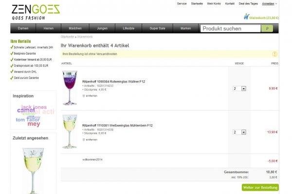 Ritzenhoff Weinglas Wüllner
