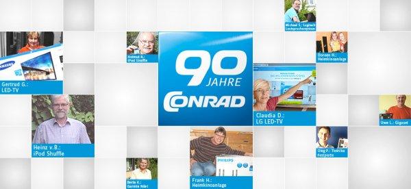 Kostenlose Gutscheine vom Conrad Gewinnspiel