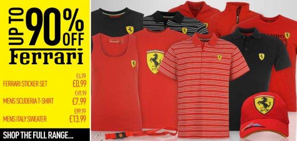 Ferrari Ausverkauf @ Sportsdirect.com