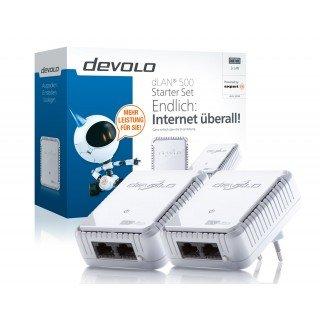 devolo dLan 500 duo Starter Kit - Netzwerk aus der Steckdose bei Expert