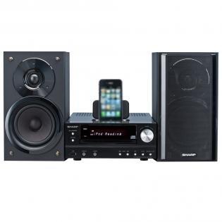 Sharp XLHF201PHBK HiFi Kompaktanlage mit iPhone/iPod Dock für 145€@Redcoon
