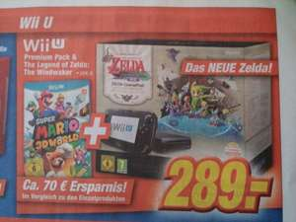 [Expert] Lokal Würzburg? Wii U Zelda Bundle + Super Mario World