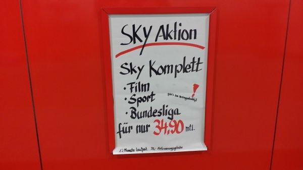 Lokal Media Markt Trier Sky Komplett für 34,90
