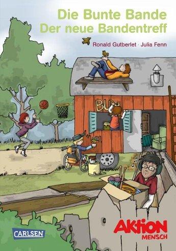 """Kostenloses Kinderbuch der Aktion Mensch """"Die Bunte Bande"""" (für 8 bis 11jährige)"""