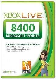 8400 Microsoft Points 65,00€ ebay.de
