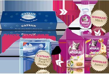 Kostenloses Catsan® Willkommenspaket