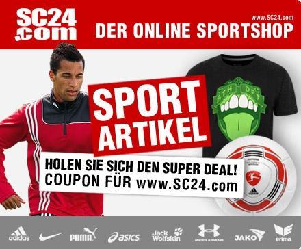 14,99 statt 45€ sc24.com gutschein günstige Trikots