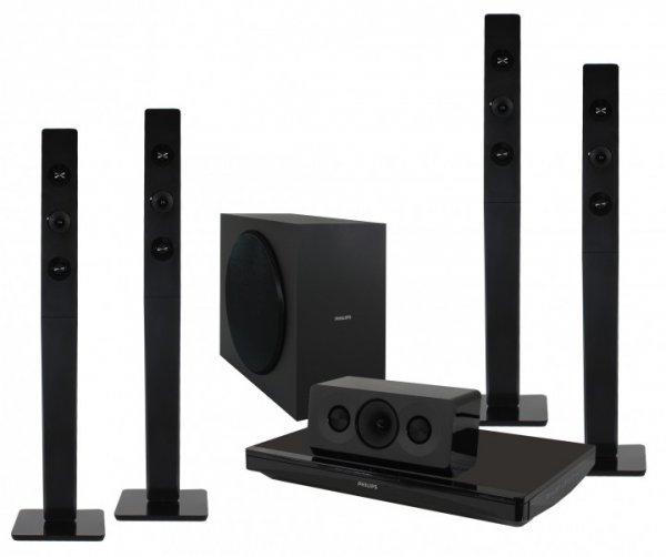Philips HTB3570 Heimkinosystem, Full HD 3D Blu-ray Player, 1.000 W, Bluetooth 239,99 € für Neukunden