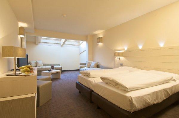 Le Blanc Hotel & Spa - 7 Nächte in 4 Sternen auf 1700 Meter mit Halbpension und Skipass €469 a.d. Monte Bondone, Trentino, Italien