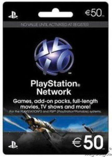 Playstation Livecards 50€ myToys -10€ Gutscheincode