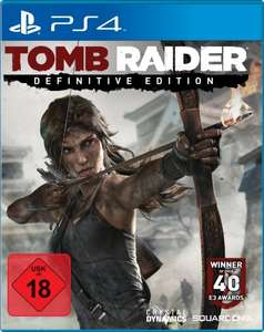 [Buecher.de] Tomb Raider: The Definitive Edition (PlayStation 4  & Xbox One) für 46,99 €