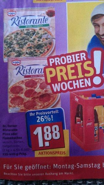 Dr. Oetker Ristorante effektiv 1,38€ dank Coupies Rewe Deutschlandweit