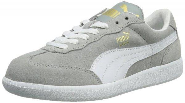 PUMA Liga Suede Limestone Grey White (noch alle Größen!) [@zalando.de]