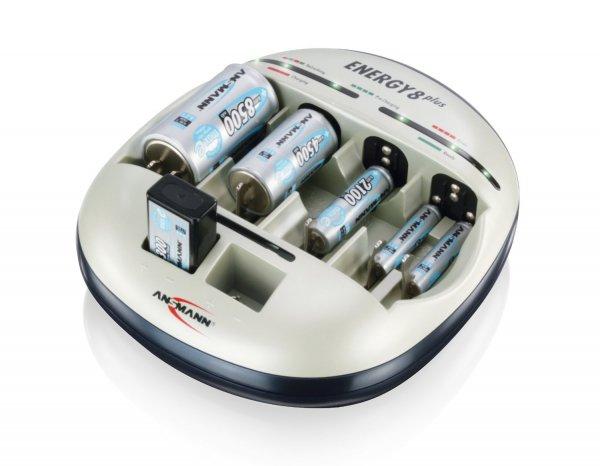 Ansmann Energy 8 Plus Universal-Ladegerät - 43,22 inkl. Versand - DIGITALO