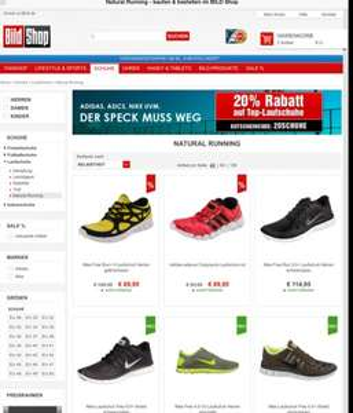 Nike Free -20% Rabatt und VSK frei